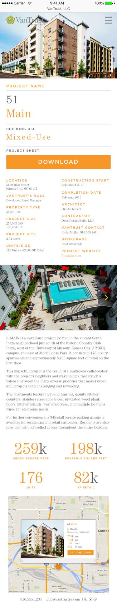 VanTrust Real Estate - Property Profile, Mobile
