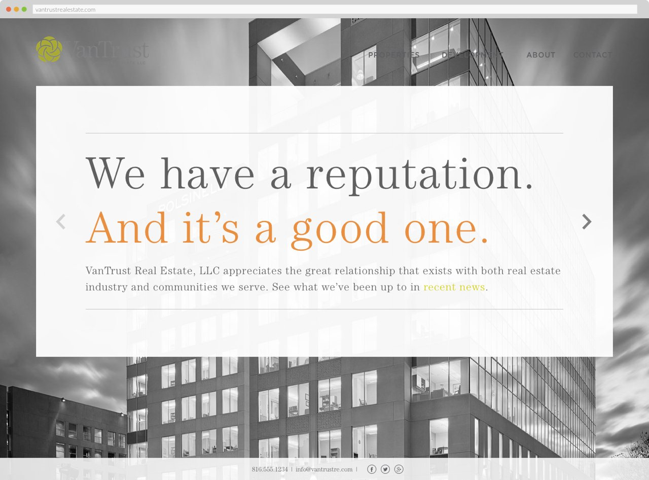 VanTrust Real Estate - Homepage