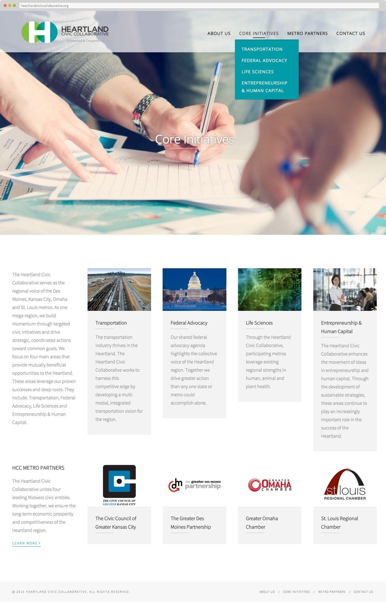 Heartland Civic Collaborative Core Initiatives