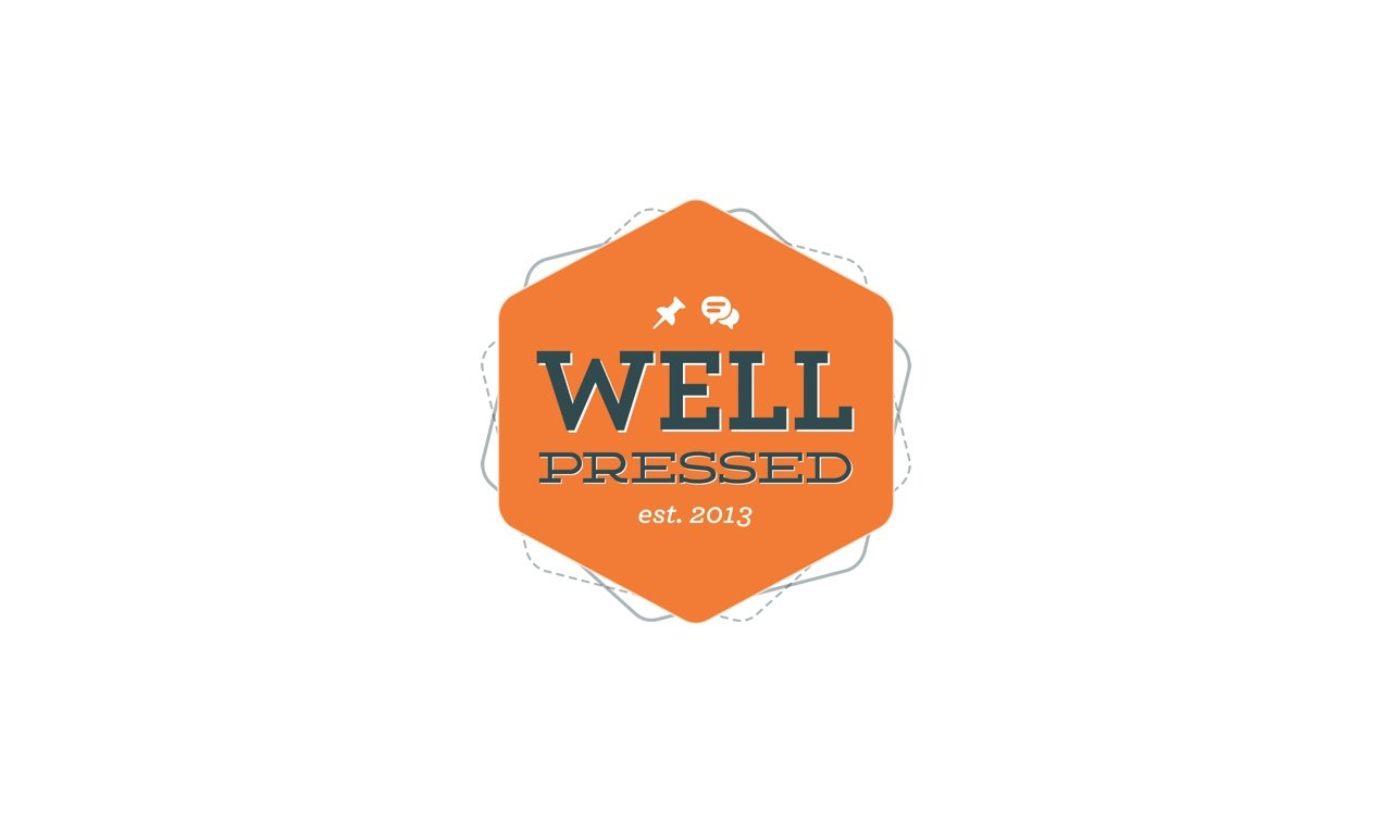 Well Pressed Logo