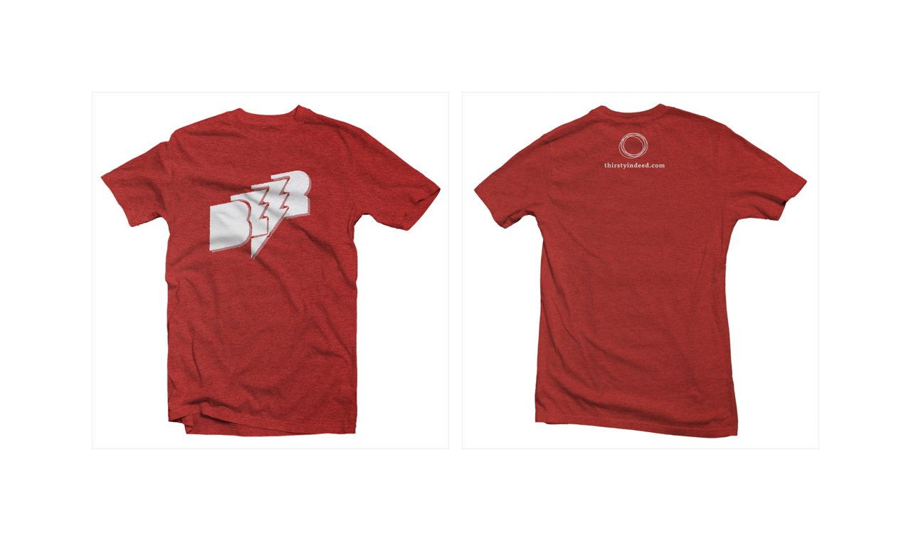 Thirsty, Indeed - Flash Beer T-shirt