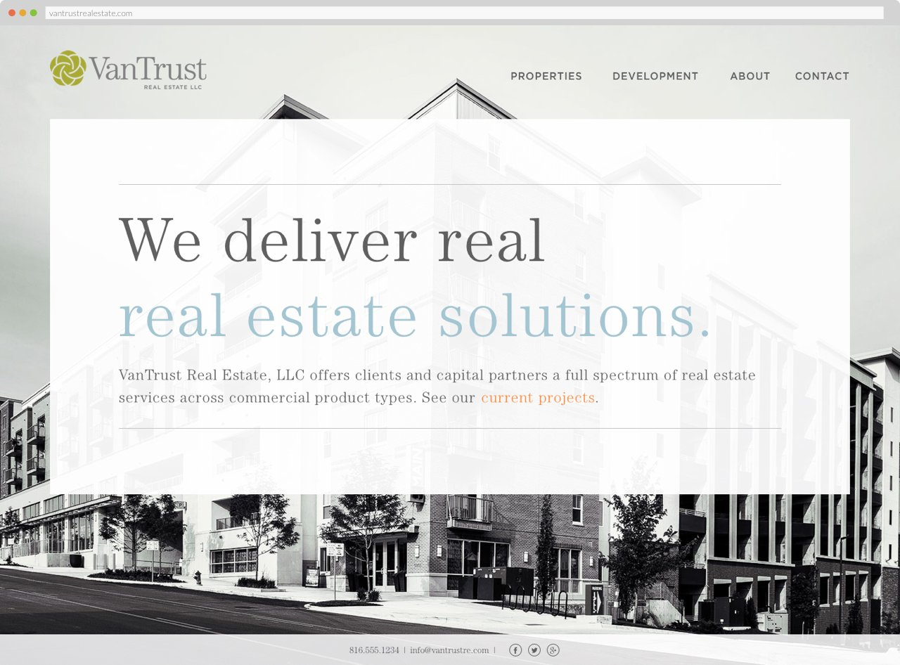 VanTrust Real Estate - Homepage